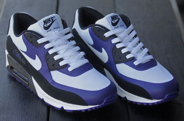 air max purple and black