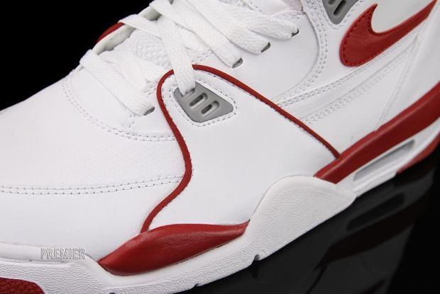 3f1eadf2028a Nike Air Flight 89 – White – Varsity Red