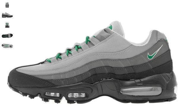 Nike Air Max 95 – Anthracite – Grey – Green