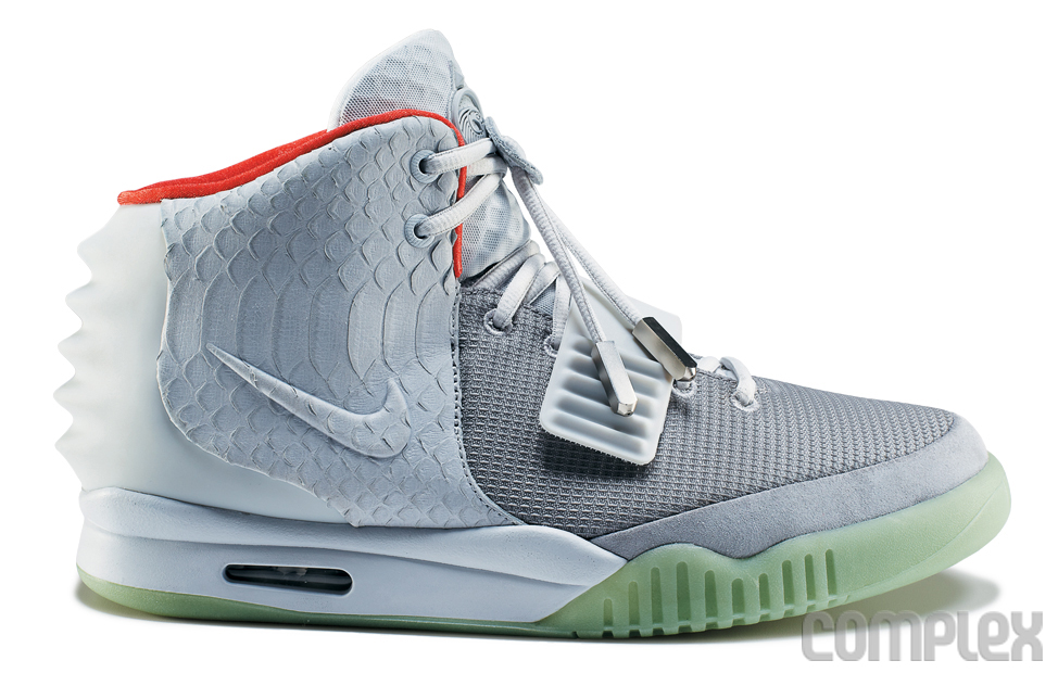 Nike Air Yeezy 2 Wolf Grey - Pure Platinum (7)