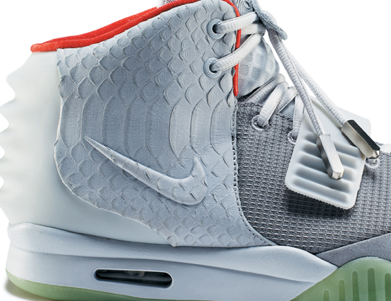 Nike Air Yeezy 2 Wolf Grey - Pure Platinum (1)