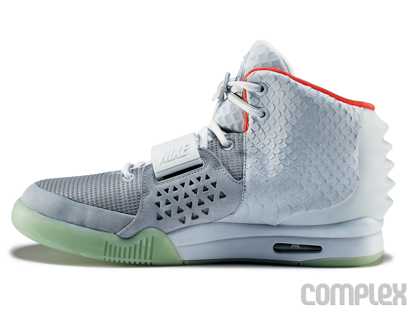 Nike Air Yeezy 2 Wolf Grey - Pure Platinum (6)