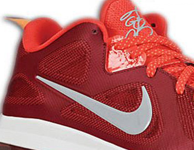 Nike Lebron 9 Low Challenge Red (1)