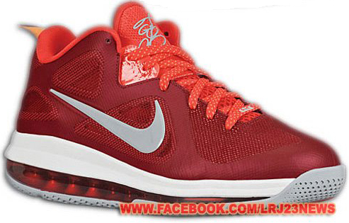 Nike Lebron 9 Low Challenge Red (2)