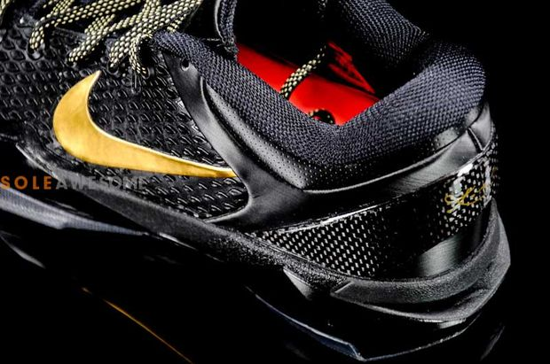 Nike Zoom Kobe VII Elite Black – Metallic Gold – New Images 4c38bd97bc