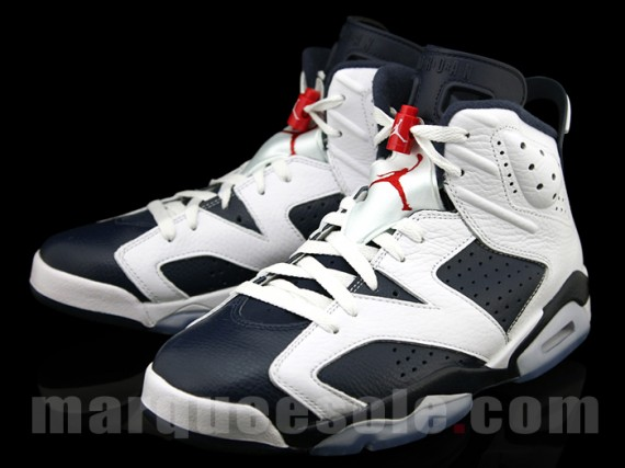 "newest collection 9dd03 28fe8 2012 Nike Air Jordan Retro 6 ""Olympic""- New Images « The ..."