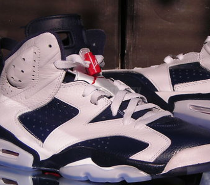 check out 3661f c28ad Air Jordan 6 'Olympic' 2012