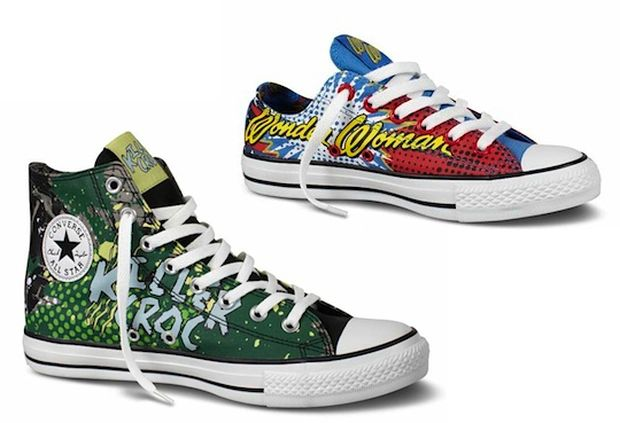 961176b0333 Converse continues their collaborative series with DC comics ...