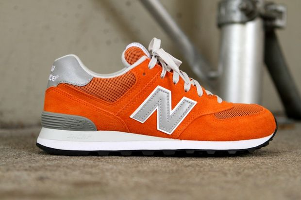 574 Red new New Orange Balance qx5XOnwUY