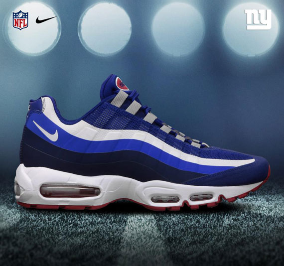 cheap for discount 95636 4c72c NFL x Nike Air Max 95 – No Sew – NFC EAST