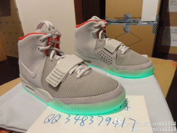 dde9b153 Nike Air Yeezy 2 'Pure Platinum' Another Look