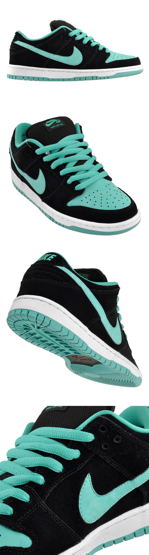 Nike SB Dunk Low Pro Black Clear Jade-White 304292-030. TAGS  Nike SB 2ad60e6251