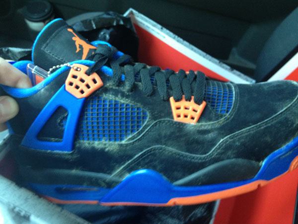 the best attitude 129f2 9d19d Guy Receives Moldy 'Cavs' Air Jordan 4s