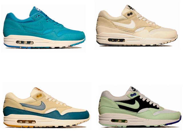 fba4320e4f ... Overkill Berlin has given us a sneak peek at the upcoming Air Max 1  colorways for ...