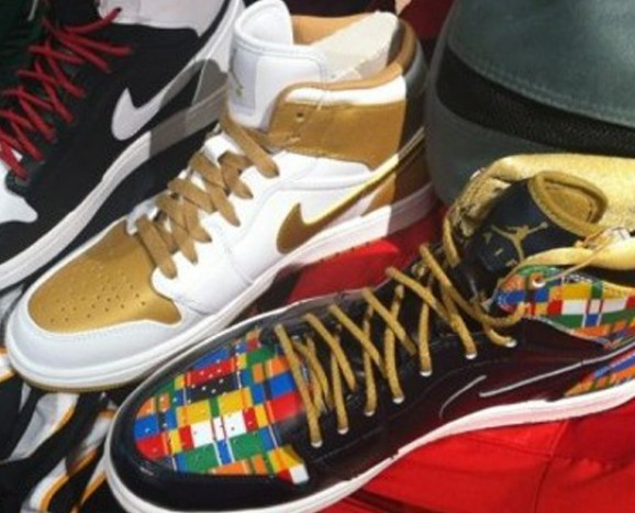"the best attitude 75856 0e8c6 2012 Nike Air Jordan Retro 1 High ""Road to the Gold"" Pack Release Date"