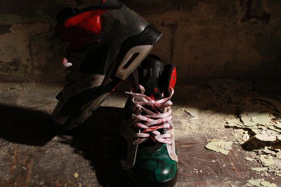 new product 9a52f 1c88e Air Jordan 6 - 'Friday the 13th' Custom