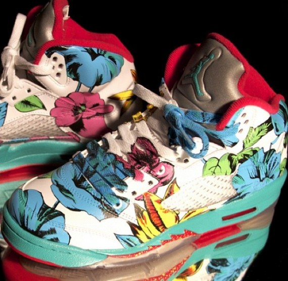 air-jordan-v-floral-customs-by-el-cappy-01-570×556  642855a9132
