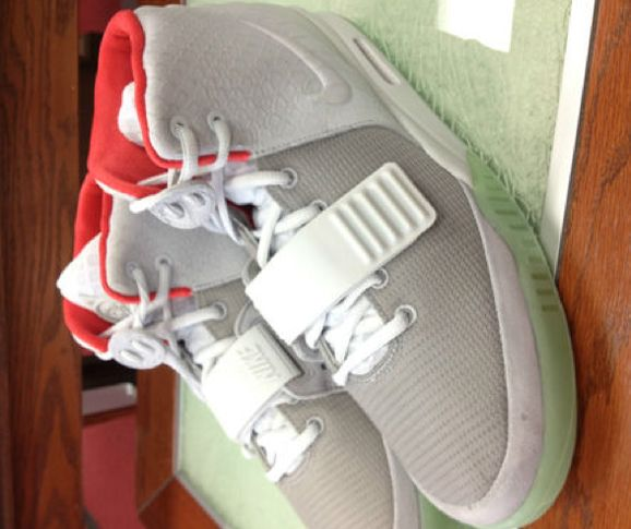 huge discount 8d331 b75ed nike air yeezy 2 wolf grey pure platinum ebay