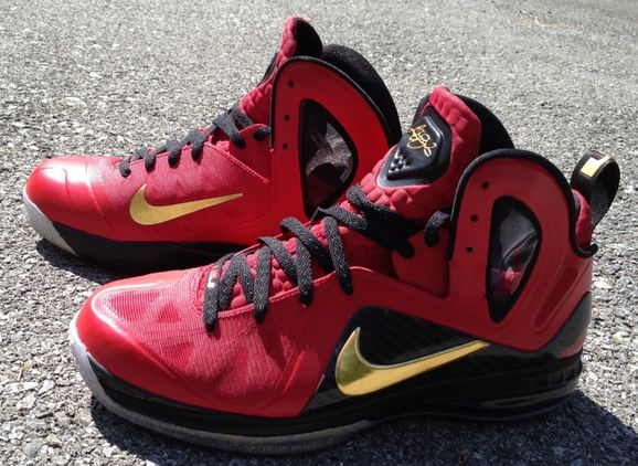 Christmas Lebron 9s.Nike Lebron 9 Elite Nba Finals Custom