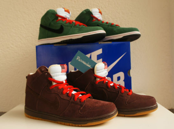 pretty nice f35f7 23612 Nike SB Dunk High – Beer Bottle Pack – Available Early