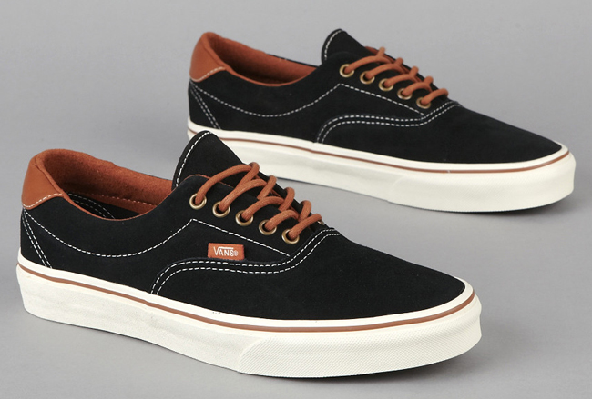 Available now at select retailers is a new colorway from one of Van's best  selling models, the Vans Era 59. The upper features black suede that is ...