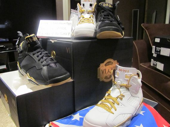"best website bd4bc 2882c Air Jordan Retro ""Gold Moments"" Pack – Available Early"