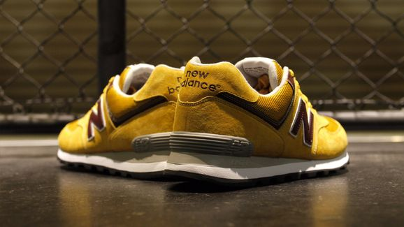new balance ml 574 yellow