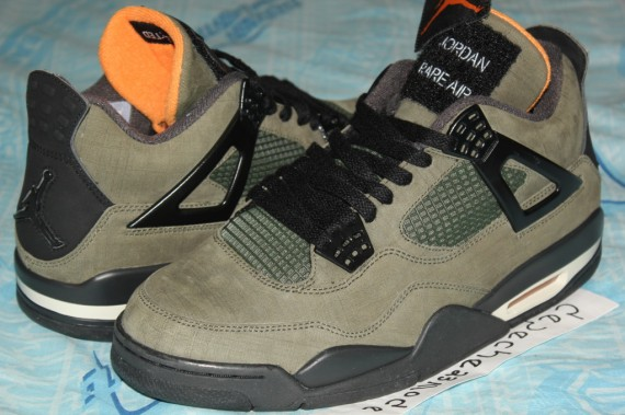 separation shoes e9215 2e6bc The Air Jordan 4 x UNDFTD ...