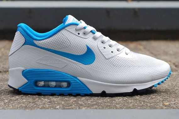 Nike Air Max 90 Hyperfuse Laser Blue White Black