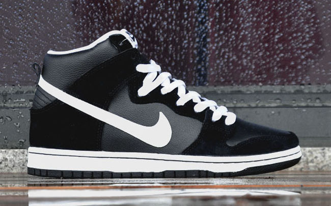 Nike SB Dunk High - Black - White 4bd340b71422