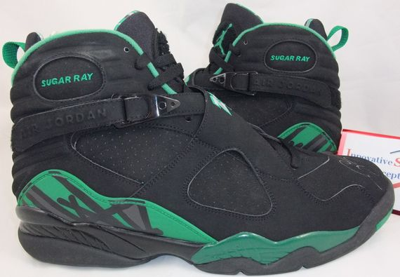 newest collection c3806 1e67b order air jordan retro 8 black green 38d72 dafd7