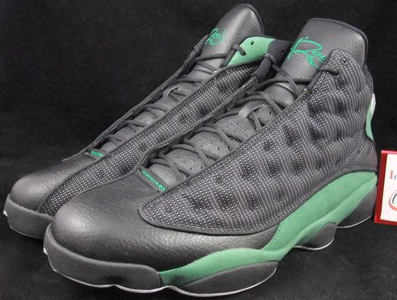 best service ca9fd 55416 Air Jordan 13 – Ray Allen – Black – Green – Available on Ebay