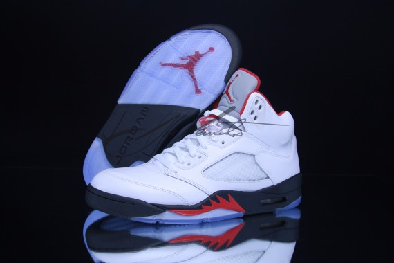 air jordan 5 retro red