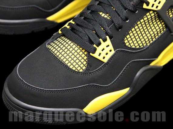 "innovative design 6a76e e8786 The Air Jordan 4 ""Thunder"" ..."