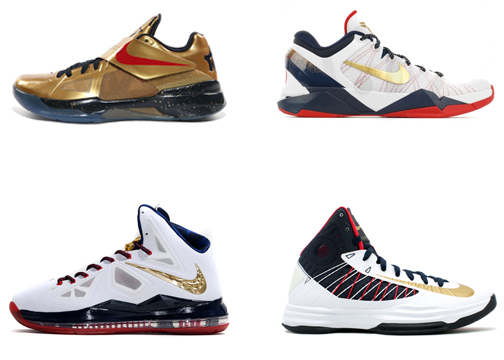 "Nike LeBron X ""Gold Medal Game""; Who's ."