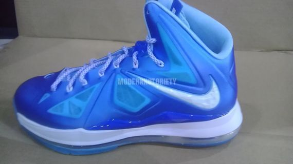 01179bccb25e Nike Lebron 10 X Blue Diamond