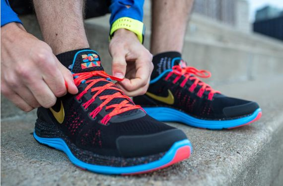 new arrival 364c5 3a003 Nike Lunarglide+ 4 x Cody Hudson - Chicago