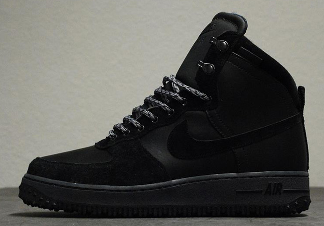 nike air force 1 deconstruct boots black/black
