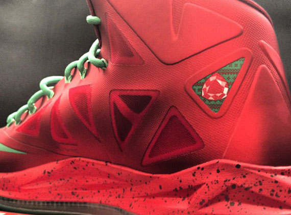 "Nike Lebron 10 ""Christmas"" – Another Look. By 6004bad7e1e6"