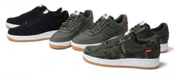 Supreme x Nike Air Force 1 Low Release Date ~ The Delicate
