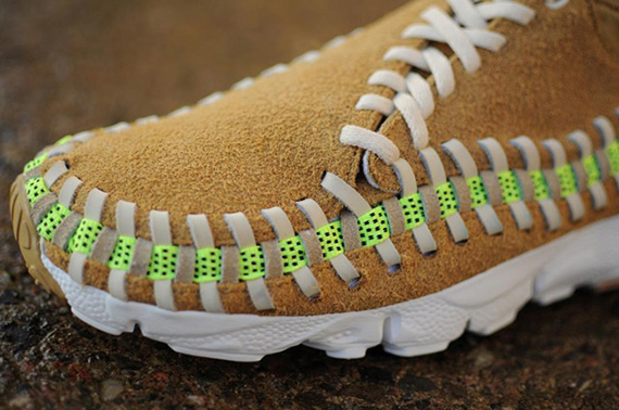 305389 439769049409824 1223661167 n Nike Air Footscape Woven Chukka | Tan & Volt