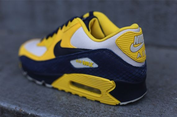 air max 90 blue and yellow