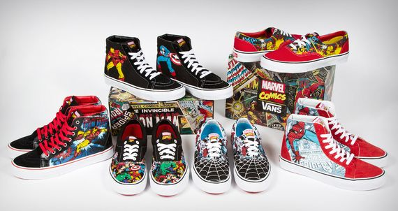 Vans x Marvel_Collection
