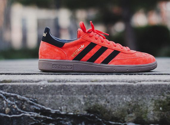 adidas originals spezial -red, black - gum