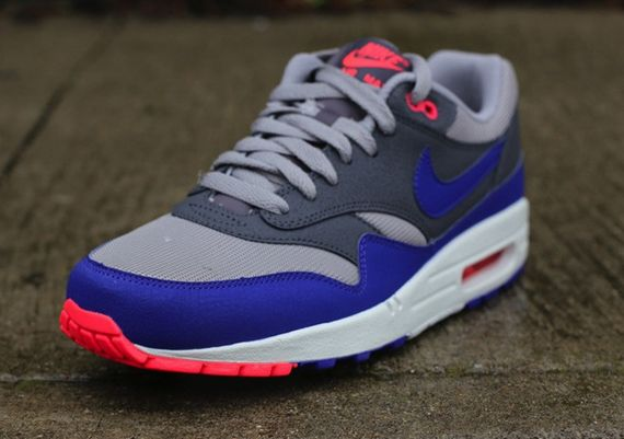 nike air max 1 grey blue