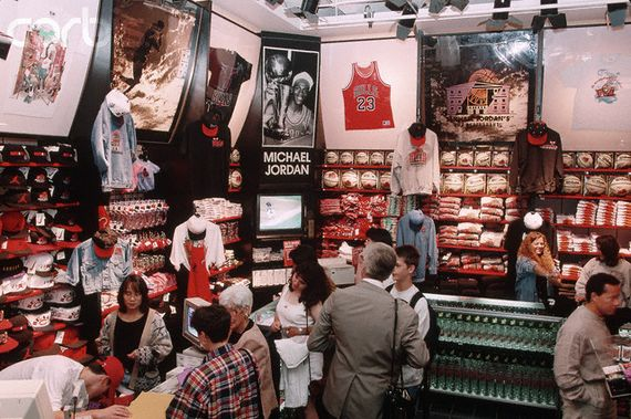 Souvenir Shop at Michael Jordan's Restaurant