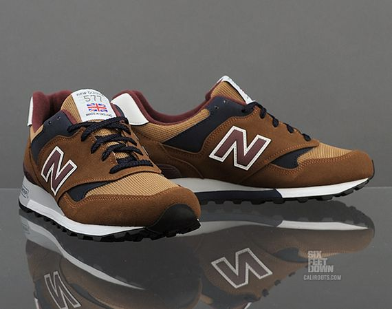 new balance 574 brown tan