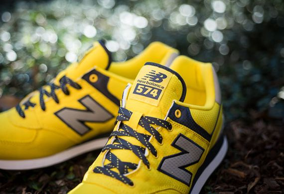 new balance model 574 yellow