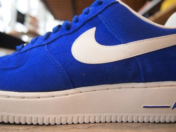 Air Force Blues Blue Suede Air Forces