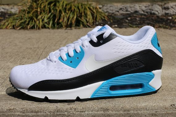 Nike Air Max 90 EM White Black Laser Blue